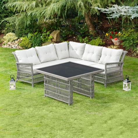 Patio Furniture Sets B M Hertfordshire Corner Dining Set 5pc Garden Furniture B M