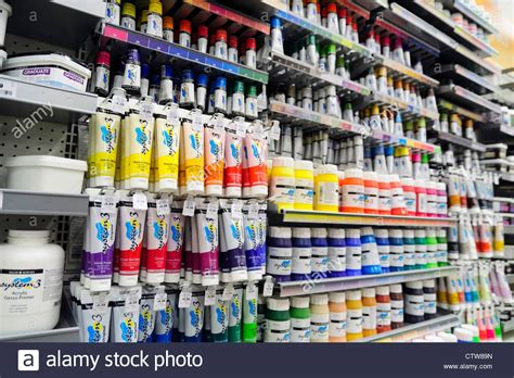 acrylic painting supplies supplies of acrylic paint for sale inside a