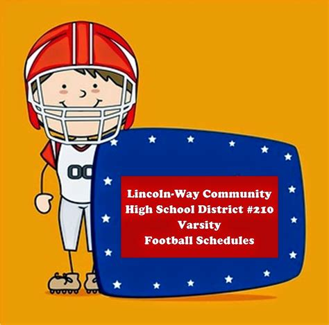 lincoln way high school district 210 fall means football lincoln way community high school