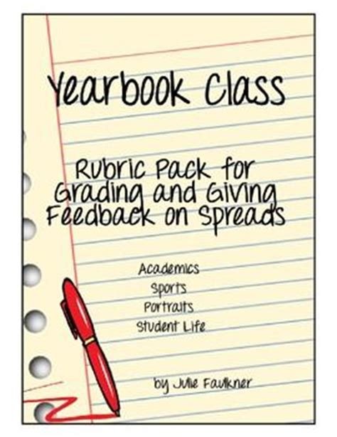 yearbook layout rubric yearbooks rubrics and yearbook spreads on pinterest