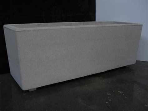 vasi rettangolari vaso fioriera rettangolare in cemento torino 120x40 h44