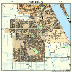 palm bay florida map 1254000