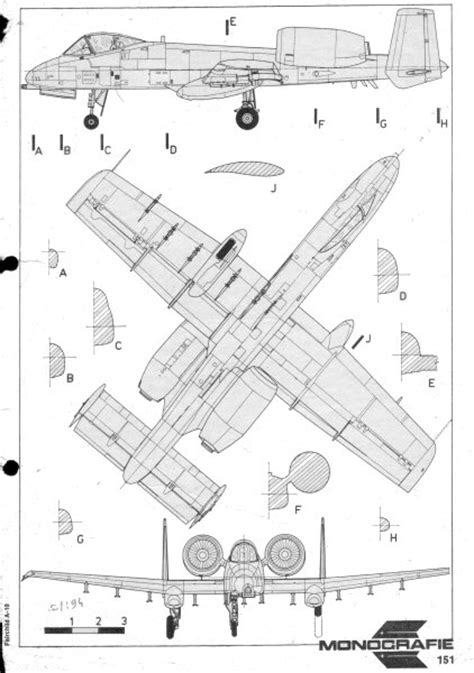 site plan drawing a10 developing desing for a fairchild republic a 10