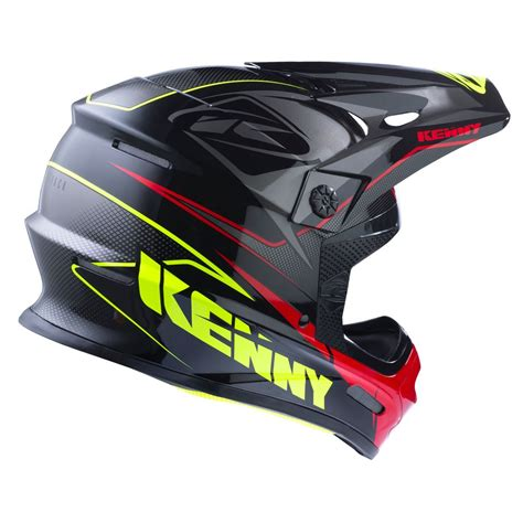 kenny motocross casque cross kenny track noir gris rouge 2017 collection