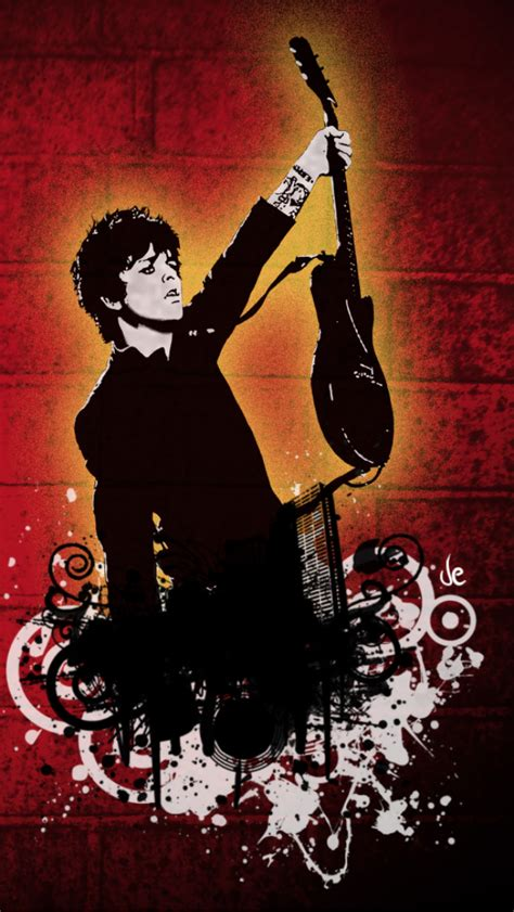 wallpaper iphone green day green day billie joe iphone 5 wallpaper 640x1136
