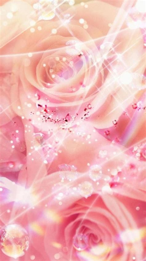 glitter wallpapers of flowers 28 best girly wallpapers images on pinterest wallpaper
