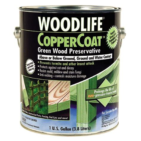 wolman 1 gal copper coat green below ground wood