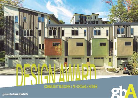 aia recognizes the six for excellence in housing design gile community housing wins aia vt excellence in