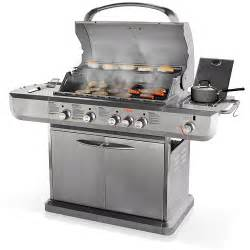 Backyard Grill 5 Burner Propane Gas Grill Uniflame 48 000 Btu 4 Burner Lp Gas Grill Stainless Steel