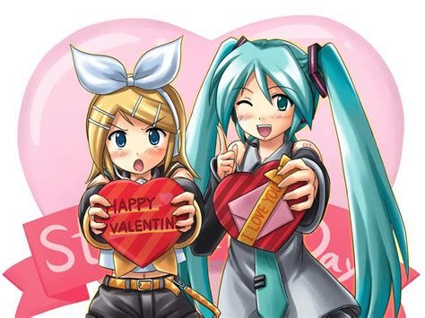 anime valentines happy valentines day happy valentines day anime