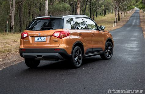 Suzuki Vitars 2016 Suzuki Vitara S Turbo Review Performancedrive