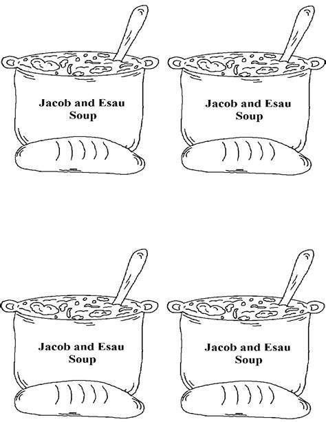 sunday school coloring pages jacob and esau jacob and esau sunday school lesson