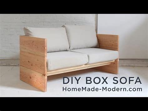 Sofa Kotak membuat sendiri sofa kotak dari bahan multiplex papan
