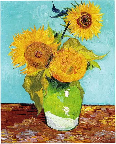File:Vincent Van Gogh Three Sunflowers F453 Wikimedia Commons