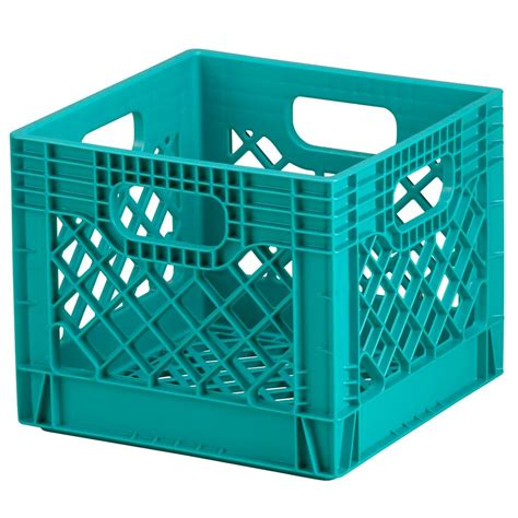 blue milk crate storage  land  nod