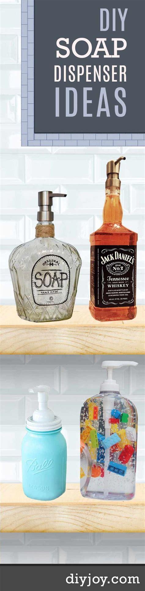 diy liquor ideas 11 diy soap dispensers to dress up your do it