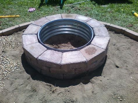 Unique Lowes Fire Pit Steel Ring For Lowes Outdoor Fire