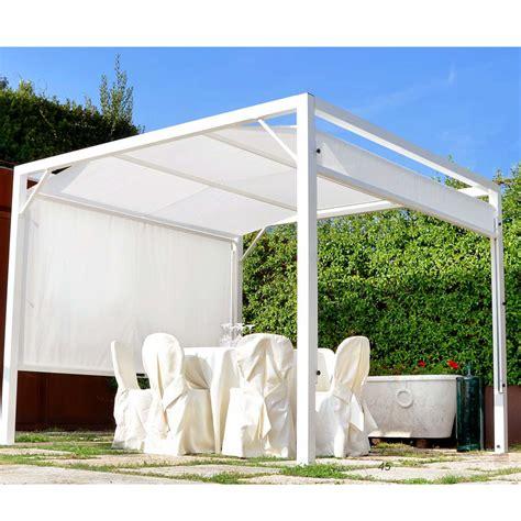gazebo alluminio il parco gazebo stand relax seguiombra con struttura in