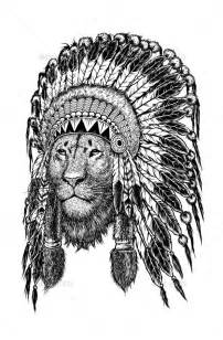 indian lion tattoo 1000 ideas about headdress tattoo on pinterest indian headdress tattoo native tattoos and