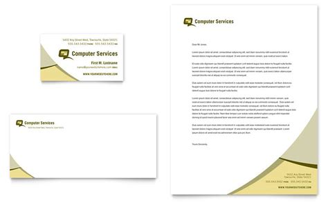 business consultancy letterhead template computer services consulting business card letterhead