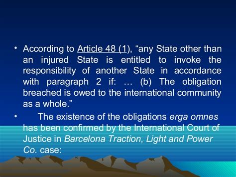 barcelona traction case state responsibility