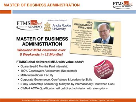 Ftms Mba Fees by Ftms India Ppt Marketing