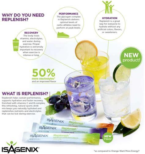 Detox Vs Hydrating by Buy Isagenix Ed Replenish Hydrate Healthy Energy Sports