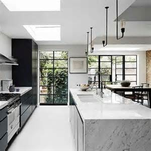 marble kitchen island 25 best ideas about black kitchen island on