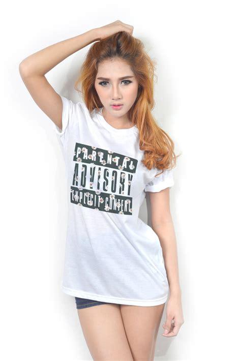 Tumbl T T Shirt Kaos Parental Advisory t shirt clothes parental advisory content hair white t shirt wheretoget