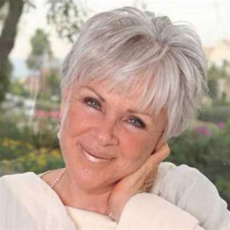 Hair Color For Over 60 | 25 easy short pixie bob haircuts for older women over 50