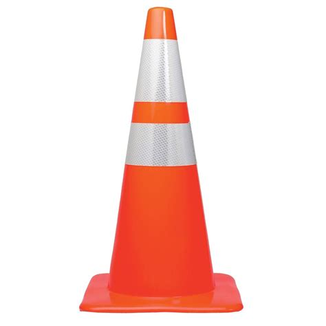 Pvc Traffic Cone Traffic Cone Cone Traffic Work Road Barier 3m 18 in orange pvc non reflective traffic safety cone 90128 00001 the home depot