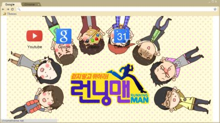 theme google chrome running man blog cik miela freebies google chrome theme