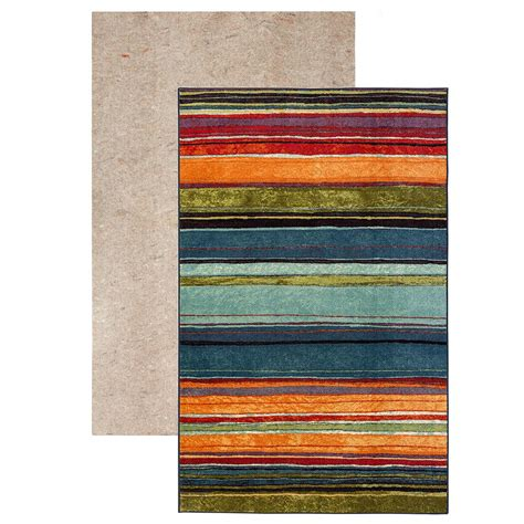 mohawk home rainbow multi 6 ft x 9 ft area rug 512712 mohawk rainbow multi set set includes 5 ft x 8 ft area