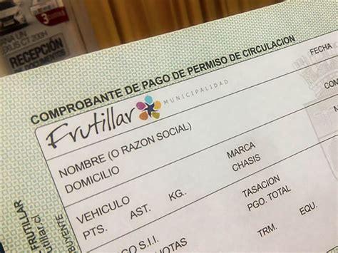 precio de permiso de circulacion 191 qu 233 documentos son necesarios para pagar el permiso de