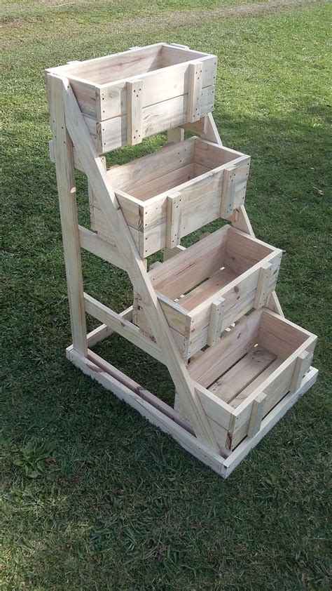 Buy Wooden Planter Box by Best 25 Pallet Planter Box Ideas On Single