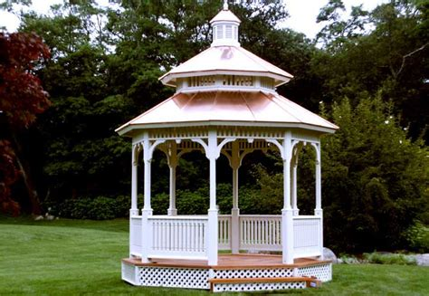 gazebo s gazebos from vixen hill gazebo kits wood gazebos