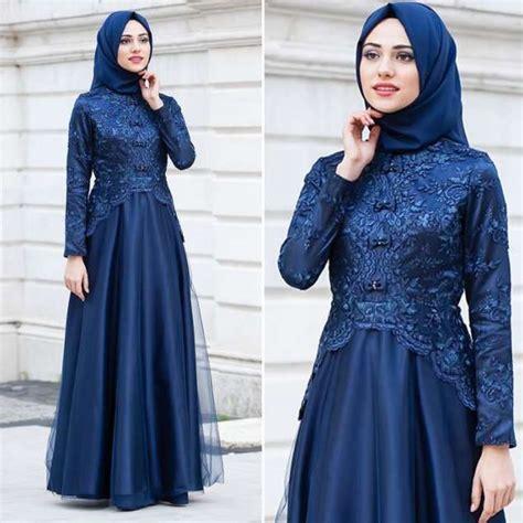 Baju Muslim Brokat Kebaya 21 model kebaya modern terbaru untuk umum muslim dan