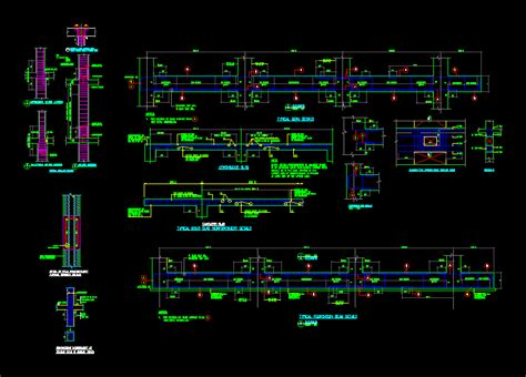 general notes  structural dwg detail  autocad designs cad