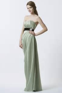 long sage green bridesmaid dress rachels wedding pinterest