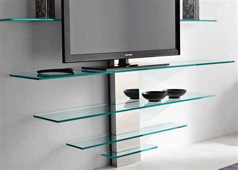 Tonelli Mondovisione Glass TV Unit   Glass Furniture   TV Units   Tonelli Design