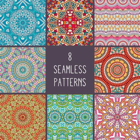 matching your pattern descargar gratis colecci 243 n de patrones de estilo boho descargar vectores