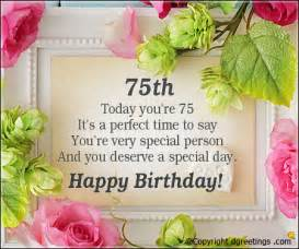 75th birthday invitation wording birthday invitation sayings