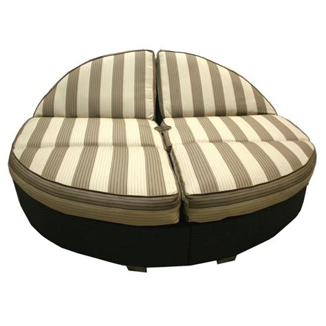 Round Double Chaise Lounge Outdoor : Ideas a Double Chaise
