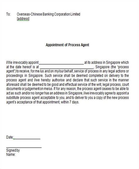 appointment letter sle for travel appointment letter sle for travel agency 28 images