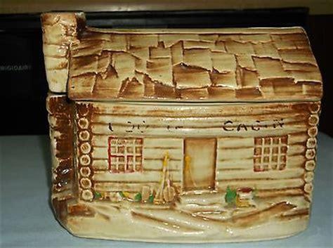 Mccoy Log Cabin Cookie Jar by Vintage Mccoy 136 Usa Pottery Log Cabin Cookie Jar With Lid 1950 S Antique Price Guide