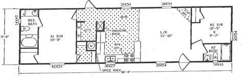 2 bedroom manufactured home 2 bedroom single wide trailer floor plans