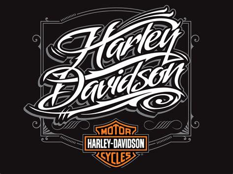 Design Font Harley Davidson | harley davidson script by dan janssen dribbble