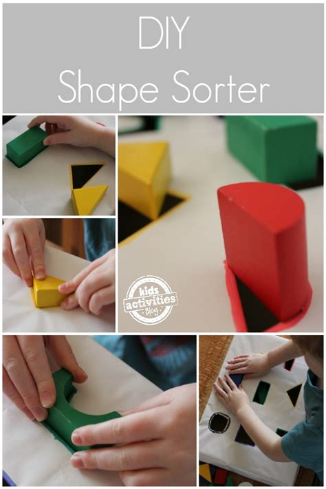 diy shape sorter