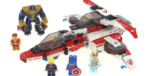 Best Lego 76049 Heroes Avenjet Space Mission lego marvel heroes avenjet space mission review set 76049