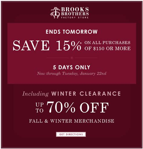printable coupons brooks brothers outlet some info about brooks brothers printable coupon